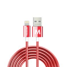 fruitywire DURASTEEL™ - MFi-Certified Anti-Abrasive STAINLESS STEEL Lightning Fast Charge & Sync Cable Protected by Unbreakable Stainless Steel Sheath for Ultra Long Life Span. #MICRODIA #Fruitywire #DURASTEEL #Tough #Lightning #Cable