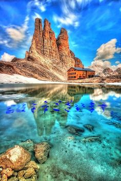 36 Most Amazing Places to Visit Before You Die [King Laurinos Towers, Dolomites, Italy] Places Around The World, Oh The Places You'll Go, Cool Places To Visit, Places To Travel, Around The Worlds, Travel Destinations, Wonderful Places, Beautiful Places, Amazing Places