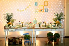 Little Prince Party, The Little Prince, Festa Party, Candy Buffet, Dessert Table, Party Planning, Party Time, Baby Shower, Inspiration