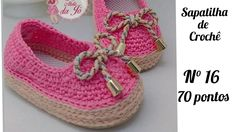 Baby Shoes, Youtube, Clothes, Fashion, Loafers & Slip Ons, Made By Hands, Tricot, Shoes, Crochet Shoes