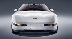 GM restores sinkhole-damaged 1-millionth Corvette