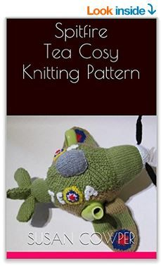 Get the Spitfire tea cosy knitting pattern on your #Kindle http://www.amazon.com/dp/B0134S3W0O  and knit yourself an amazing tea cosy!