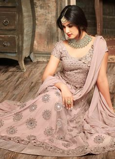 081236eb3c Buy Sonal Chauhan Mauve Anarkali Suit 5102 online in USA, UK and Canada  from KollyBollyEthnnics