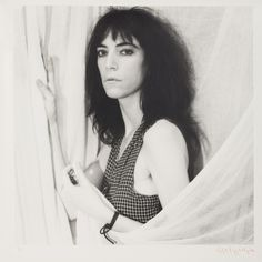 Patti Smith photographed by Robert Mapplethorpe