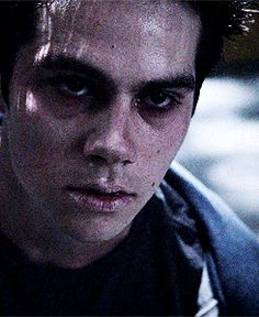 GIF from Tumblr - Dark Stiles Teen Wolf S3E22 De-Void