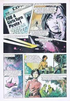 Out Of This World: Enrique Badia Romero. colors.
