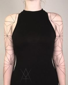 Minimal geometric sleeves by Y4shk4