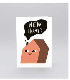 Image of 'New Home' Greetings Card