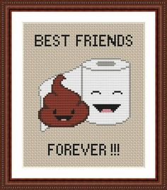 (10) Name: 'Embroidery : Poop Cross Stitch Pattern