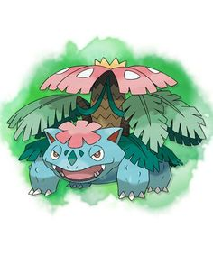 Mega_Venusaur pokemon-X-and-Y.(disappointing to look at) Never really expected anything good about this mega evolution.... I just noticed something, Mega Venusaur makes a good addition to barbie collections... Specially with that flower on its head..its a perfect barbie pet!
