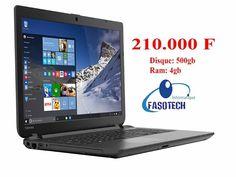 #GrandePromo  Toshiba C50D-B-120 ►#Prix : 210.000 FCFA  #Tel: 73737354 / 68686819 / 77777720  #Fiche_Technique : Disque: 500gb. Ram: 4gb. Écran: 15,6 Pouce. Windows 10. Clavier: Azerty avec pavé numérique.  #Site_Web : www.fasotech.fr  ►#SITUATION_GEOGRAPHIQUE: Quand vous quittez le siège de Airtel et vous prenez la route qui mène à l'aéroport, arrivez au feu de Koulouba à l'intersection, où y'a la station total et shell, vous tournez à gauche et juste à 50m vous verrez Fasotech à gauche…