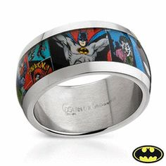 stainless steel just arrivedbatman mens stainless steel wedding band
