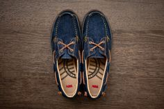 [STYLE] @Levis Footwear 2012 Spring Summer Cone Denim Vulcanized Deck Shoes ~ TheRedTagSociety.com