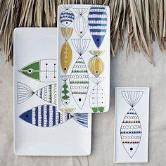 Mod Fish Platter, Medium