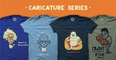 Best collection of cool TShirts, Boxers, Posters, Badges, and other quirky stuff designed by artists from all over the world.