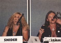 Lemmy and Dee Snider