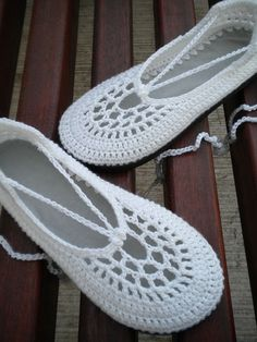 The Clouds - White Crochet Shoes with Grey Template by SoleilDuAutomne, via…