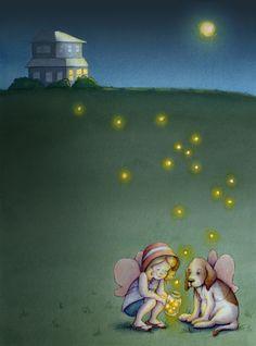 lightning bugs - Lisa Anchin