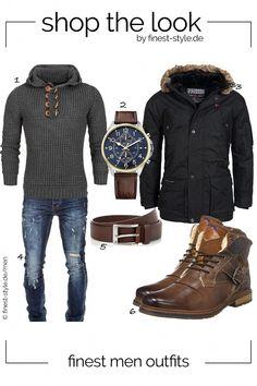 b83bad6e29 Lässiger Look für Männer kombiniert mit Teilen von Geographical Norway