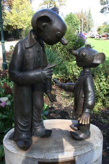 Spejbl und Hurvínek, Pilsen – Wiki d Prague 1, Professional Puppets, Engineering Works, Great Britain, Garden Sculpture, Outdoor Decor, Artist, Childhood, Artists