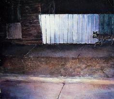 Night Ride - a G.K. artwork #Realism