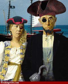 Pirates american gothic                                                                                                                                                                                 More