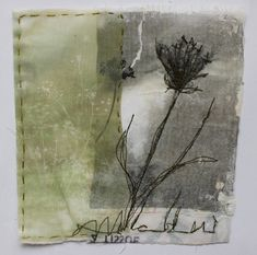 Textile Artist Cas Holmes – Lea Valley Walthamstow Weeds