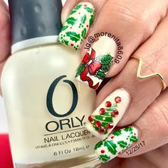 Dear Santa, just leave your credit card under the tree Merry Christmas everyone #nails #christmasnails #nailstamping #nailart #christmas #winternails #nailstyle #uñas #diseñodeuñas #style #fashion