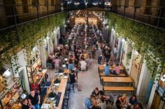 <p> A few years ago we were talking with some friends about the funny situation that the ruinpub-land that used to be the Pest Jewish district still hasnot produced too many places that fits the ruinbar scene but is open towards progressive, urban Jewish culture and cuisine.</p>