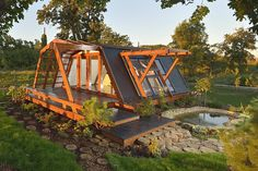 Architecture. The Varies Of Prefabricated Houses: Lively Eco Green Prefabricated Cabin With Solar System And Concrete Temperature Controller...