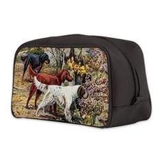 Exquisite vintage hunting dogs Toiletry Bag> Exquisite vintage hunting dogs> Victory Ink 2