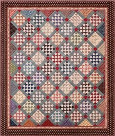 Red Rooster Quilts: Shop | Category: Patterns - Download for FREE | Product: Judie's 25th Anniversary Downloadable Quilt Pattern