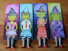 Wizard of Oz Bookmark Ruby Slippers Bookmark by kiranichols