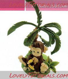 Cake Decorating Tutorials - monkeys