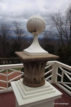 Sundial at Monticello, Virginia