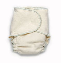 Babeegreens hemp & cotton one size fitted diaper. Great for overnight use