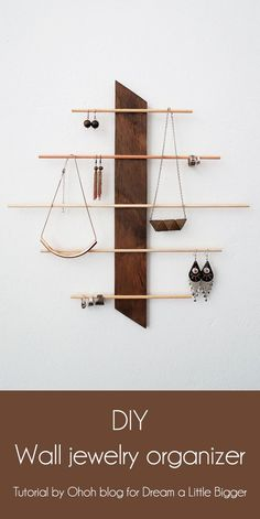 angle the bottom forward so the items hang down in back and don't interfere with the others hanging in front below.