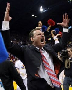 Best Bill Self moment EVER!  This makes my heart happy!