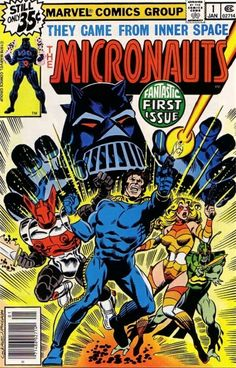 Micronauts #1 - Homeworld