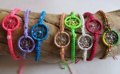 Dream Catcher Friendship Bracelet by PaolaLoves2Shop on Etsy