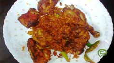 Spicy and yummy chicken fry is most popular in payyoli Indian Chicken Recipes, Spicy Chicken Recipes, Marinated Chicken, Curry Leaves, Garam Masala, Fries, Beef, Popular, Cooking
