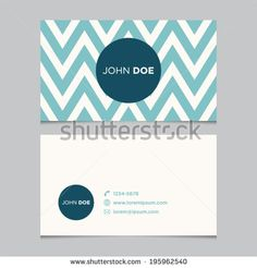Striped Business Cards Stock Photos, Images, & Pictures | Shutterstock