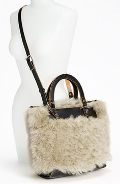 Marni Shearling Crossbody Bag
