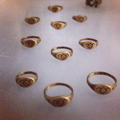 Twin Peaks rings by Adelina Mictlan