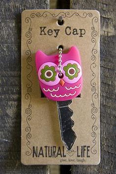 Owl Key Cap - cute stocking stuffer!