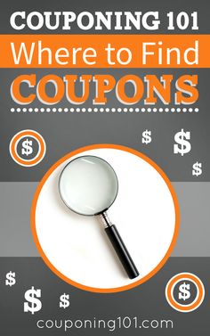 Where to find coupons. Looking for coupons? Here are the best places to find them, plus the top printable coupons and e-coupon sources!