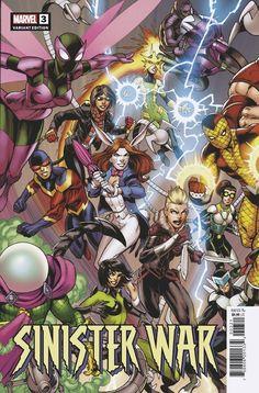 Sinister War #3 | Variant cover art by Mark Bagley, John Dell & Brian Reber Marvel 3, Marvel Comics, Mark Bagley, Make It Through, Amazing Spider, Comic Books Art, T 4, Cover Art, Spiderman