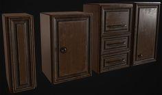 ArtStation - cupboard set, david garrett