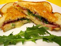 grilled ham spinach grilled cheese sandwiches grilled sandwich roasted ...