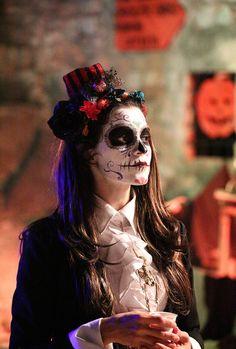 Horrifique Halloween | masque mortuaire pour el dia de los muertos